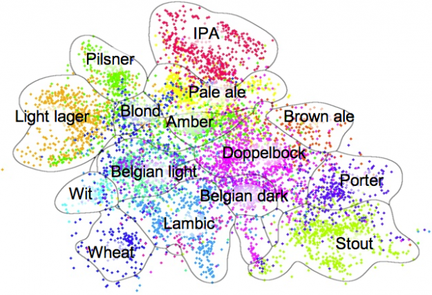 Beer map