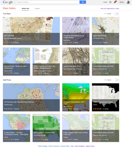 Google Map Gallery