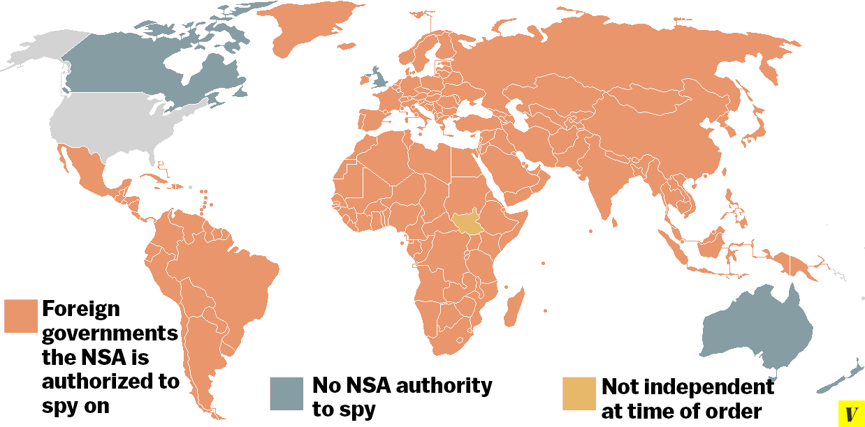 nsa authority map