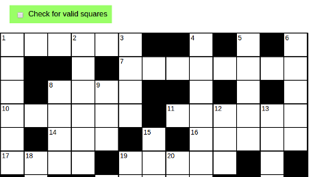 Crossword Puzzle « Another Word For It