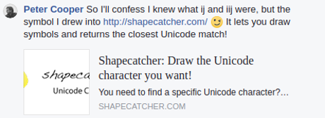 Unicode « Another Word For It